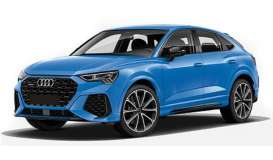 Audi  - RS Q3 Sportback 2019 blue - 1:87 - Minichamps - 870010104 - mc870010104 | The Diecast Company