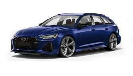 Audi  - RS 6 Avant 2019 blue metallic - 1:87 - Minichamps - 87001010011 - mc870010011 | The Diecast Company