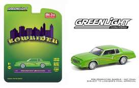 Chevrolet  - Monte Carlo *Lowrider* 1982 candy green - 1:64 - GreenLight - 51388 - gl51388 | The Diecast Company