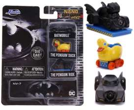 Assortment/ Mix  - Batman black-yellow - Jada Toys - 31616 - jada31616 | The Diecast Company