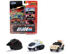 Assortment/ Mix  - GI Joe various - Jada Toys - 32083 - jada32083 | The Diecast Company
