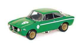 Alfa Romeo  - 1300 Junior 1971 green - 1:18 - Minichamps - 155120022 - mc155120022 | The Diecast Company