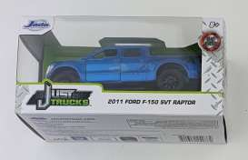 Ford  - F-150 2011 blue - 1:32 - Jada Toys - 24076 - jada24076B | The Diecast Company