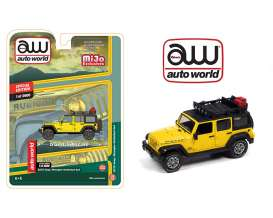 Jeep  - Wrangler Unlimited 4x4 1962 yellow - 1:64 - Auto World - CP7752 - AWCP7752 | The Diecast Company