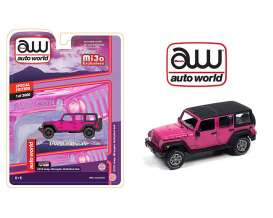 Jeep  - Wrangler Unlimited 4x4 1962 pink - 1:64 - Auto World - CP7753 - AWCP7753 | The Diecast Company