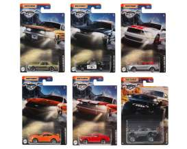 Ford  - Mustang assortment various - 1:64 - Matchbox - GGF12 - MBGGF12-956D | The Diecast Company