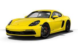 Porsche  - 718 Cayman GTS (982) 2020 yellow - 1:43 - Minichamps - 410069001 - mc410069001 | The Diecast Company