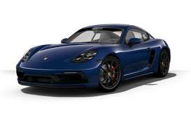 Porsche  - 718 Cayman GTS (982) 2020 blue metallic - 1:43 - Minichamps - 410069002 - mc410069002 | The Diecast Company
