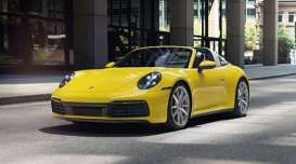Porsche  - 911 (992) Targa 2020 yellow - 1:43 - Minichamps - 410069562 - mc410069562 | The Diecast Company
