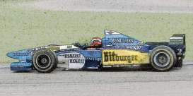 Benetton Renault - B195 1995 blue/yellow/white - 1:43 - Minichamps - 417950802 - mc417950802 | The Diecast Company