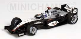 McLaren Mercedes Benz - 2004 silver/black - 1:43 - Minichamps - 530044305 - mc530044305 | The Diecast Company
