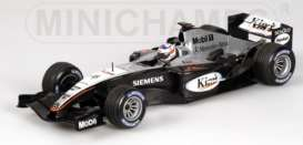 McLaren  - 2004 silver/black - 1:43 - Minichamps - 53004306 - mc530044306 | The Diecast Company