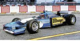 Benetton Renault - B195 1995 blue/white/yellow - 1:43 - Minichamps - 517950101 - mc517950101 | The Diecast Company
