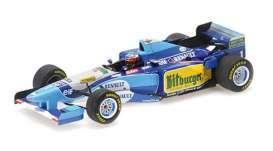 Benetton Renault - B195 1995 blue/white/yellow - 1:43 - Minichamps - 517951501 - mc517951501 | The Diecast Company
