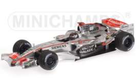 McLaren Mercedes Benz - MP4/21 2006 silver - 1:18 - Minichamps - 53061803 - mc53061803 | The Diecast Company