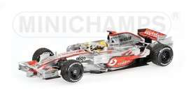 McLaren Mercedes Benz - MP4/23 2008 silver - 1:43 - Minichamps - 530084332 - mc530084332 | The Diecast Company