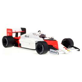 McLaren  - MP4/2 1984 white/red - 1:18 - Minichamps - 537841807 - mc537841807 | The Diecast Company