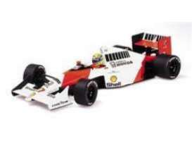 McLaren  - 1990 red/white - 1:18 - Minichamps - 540901827 - mc540901827 | The Diecast Company