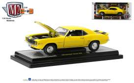 Chevrolet  - Camaro Z28 1969 yellow/black - 1:24 - M2 Machines - 40300-83 - M2-40300-83A | The Diecast Company