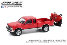 GMC  - Sonoma 1991 red - 1:64 - GreenLight - 28080C - gl28080C | The Diecast Company