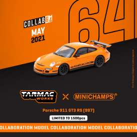 Porsche  - 911 GT3 RS orange - 1:64 - Tarmac - T64MC-001-OR - TC-T64MC001OR | The Diecast Company