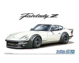 Nissan  - S30 Fairlady Z Version II  - 1:24 - Aoshima - 06101 - abk06101 | The Diecast Company