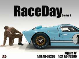 Figures  - Race Day Figure IV 2021  - 1:24 - American Diorama - 76386 - AD76386 | The Diecast Company
