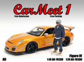 Figures  - Car Meet Figure IV 2021  - 1:24 - American Diorama - 76380 - AD76380 | The Diecast Company