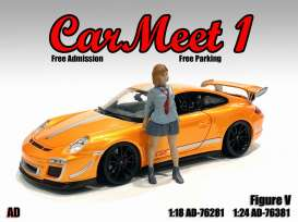 Figures  - Car Meet Figure V 2021  - 1:24 - American Diorama - 76381 - AD76381 | The Diecast Company