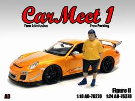 Figures  - Car Meet Figure II 2021  - 1:18 - American Diorama - 76278 - AD76278 | The Diecast Company