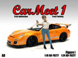 Figures  - Car Meet Figure I 2021  - 1:18 - American Diorama - 76277 - AD76277 | The Diecast Company