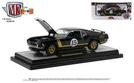 Ford  - Mustang 1970 black - 1:24 - M2 Machines - 40300-84B - M2-40300-84B | The Diecast Company
