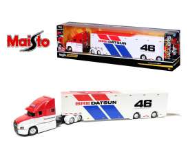 Mack  - Anthum  *BRE* 2021 white/red/blue - 1:64 - Maisto - 12418BRE - mai12418BRE | The Diecast Company
