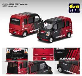 Suzuki  - 2020 black/red - 1:64 - Era - SU20EVEsp35 - Era20evesp35 | The Diecast Company