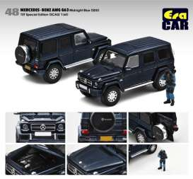 Mercedes Benz  - G63 2021 blue - 1:64 - Era - Era214x4RF48 - Era214x4RF48 | The Diecast Company