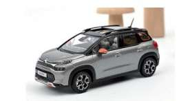 Citroen  - C3 2021 grey/black - 1:43 - Norev - 155336 - nor155336 | The Diecast Company