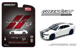 Dodge  - Charger SRT Hellcat 2018 white/black - 1:64 - GreenLight - 51425 - gl51425 | The Diecast Company