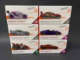 Assortment/ Mix  - Hotwheels ID various - 1:64 - Hotwheels - FXB02 - hwmvFXB02-998D | The Diecast Company