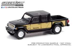 Jeep  - Gladiator 2020 black/gold - 1:64 - GreenLight - 30309 - gl30309 | The Diecast Company