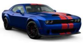 Dodge  - Challenger 2021 blue - 1:18 - GT Spirit - GT362 - GT362 | The Diecast Company