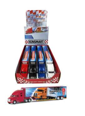 Kenworth  - T700 & Container Trailer 2021 various - Kinsmart - KT-1302D - KT1302D | The Diecast Company