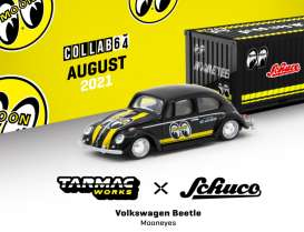 Volkswagen  - Beetle black/yellow - 1:64 - Tarmac - T64S-006-ME2 - TC-T64S006ME2 | The Diecast Company