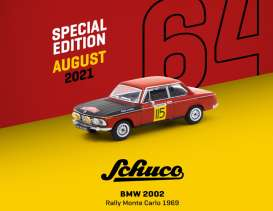 BMW  - 2002 red/yellow - 1:64 - Tarmac - T64S-007-MC69 - TC-T64S007MC69 | The Diecast Company